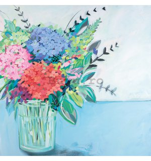 Tablou canvas - Janet Bell, Hydrangeas