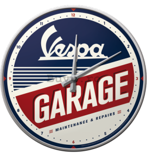 Ceas retro - Vespa Garage