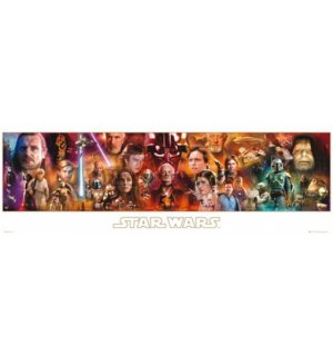 Poster - Star Wars complete
