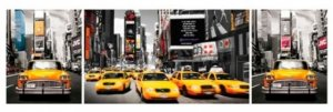 Poster - New York taxis