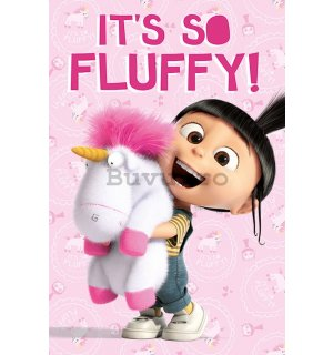Poster - Despicable Me (It's So Fluffy!)