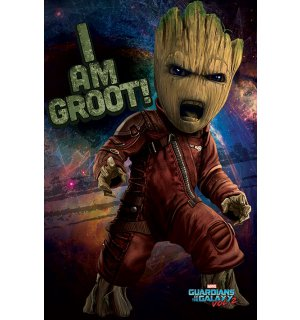 Poster - Guardians of the Galaxy vol.2 (I am Groot!)