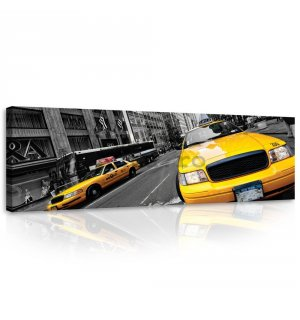 Tablou canvas: Manhattan Taxi (2) - 145x45 cm