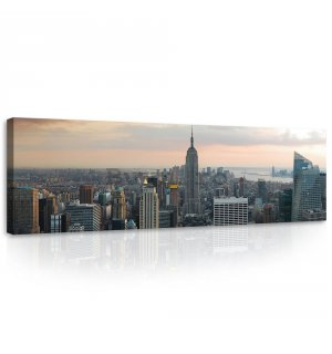 Tablou canvas: Manhattan - 145x45 cm