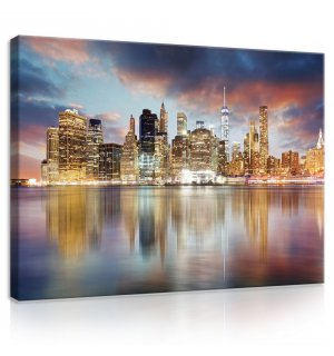 Tablou canvas: Reflexie New York - 75x100 cm