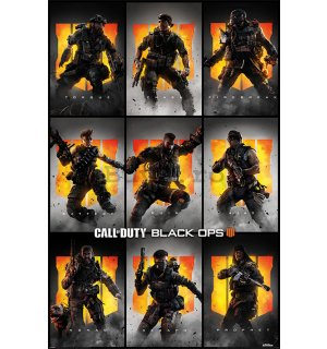 Poster - Call of Duty Black Ops 4 (Characters)