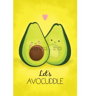 Poster - Avocado (Let's Avocuddle)