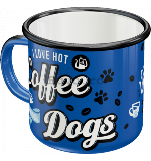 Cană metalică - Coffee Dogs