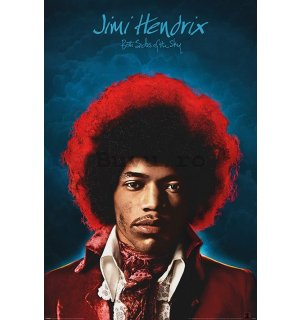 Poster - Jimi Hendrix (Both Sides of the Sky)