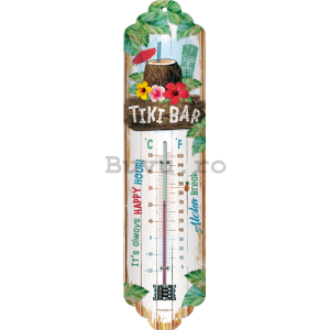 Termometru retro - Tiki Bar