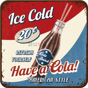 Set de suporturi 2 - Ice Cold Cola