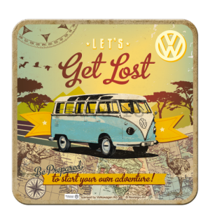 Set de suporturi 2 - VW Let's Get Lost