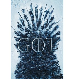 Poster - Game of Thrones (Throne of the Dead)
