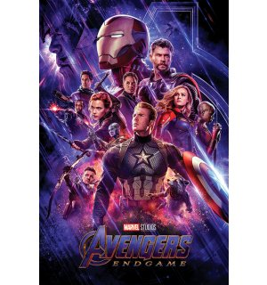 Poster - Avengers Endgame (Journeys End)