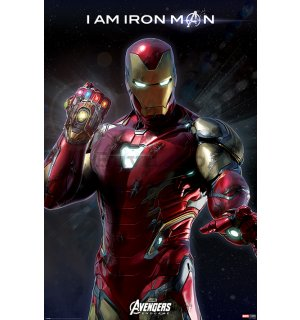Poster - Avengers Endgame (I am Iron Man)