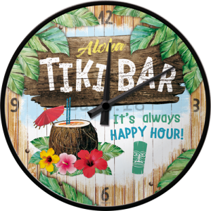 Ceas retro - Tiki Bar