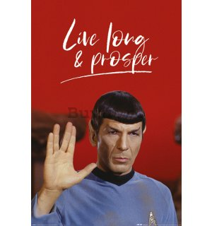 Poster - Star Trek (Live Long And Prosper)