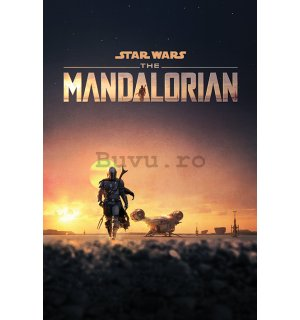 Poster - Star Wars: The Mandalorian (Dusk)