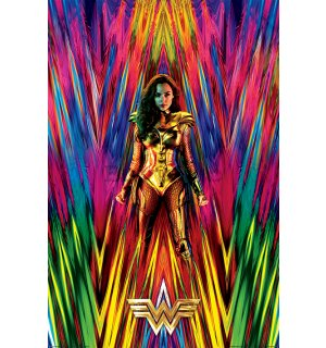 Poster - Wonder Woman 1984 (Neon Static)