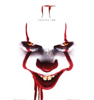 Poster - It Chapter Two (Pennywise Face)