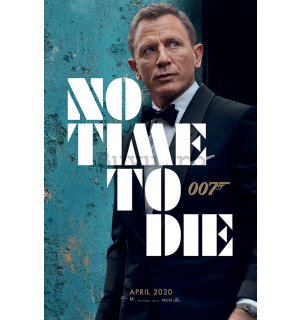 Poster - James Bond (No Time To Die - Azure Teaser)
