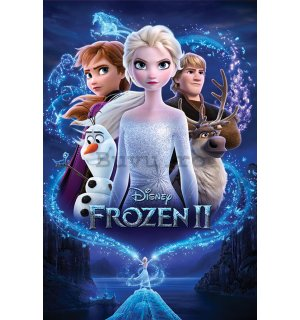Poster - Frozen 2, Regatul de gheaţă II (Magic)