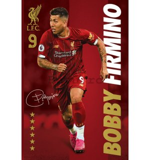 Poster - Liverpool FC (Bobby Firmino)