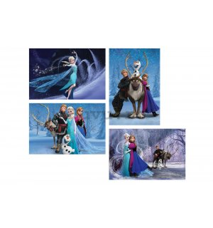 Tablou canvas: Frozen - set 4 buc 60x40 cm