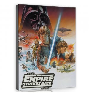 Tablou canvas: Star Wars The Empire Strikes Back - 75x100 cm