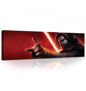 Tablou canvas: Star Wars Kylo Ren - 145x45 cm