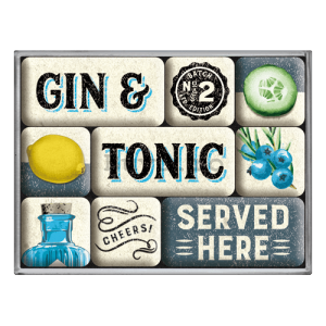 Magnet - Gin & Tonic Served Here