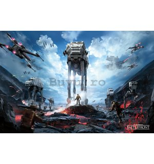 Poster - Star Wars Battlefront (War Zone)