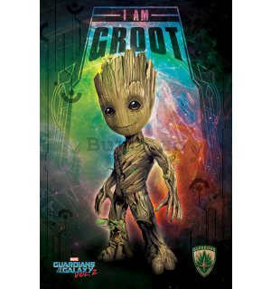 Poster - Guardians of the Galaxy Vol. 2 (I Am Groot - Space)