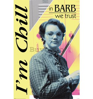 Poster - Stranger Things (In Barb We Trust)