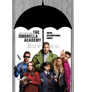 Poster - The Umbrella Academy (Super Dysfunctional Family)