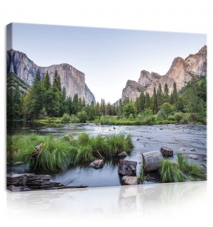 Tablou canvas: Yosemite Valley - 80x60 cm