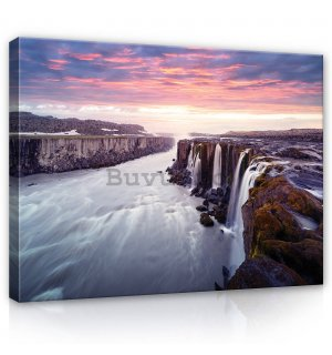 Tablou canvas: Selfoss, Islanda - 80x60 cm