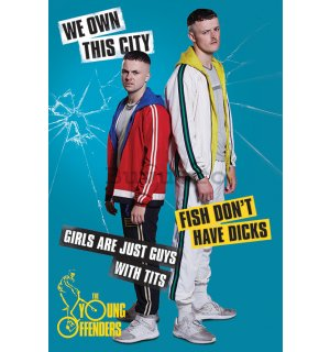 Poster - Young Offenders (We Own This City)
