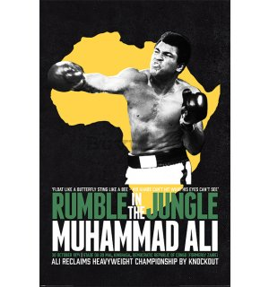 Poster - Muhammad Ali (Rumble In The Jungle)