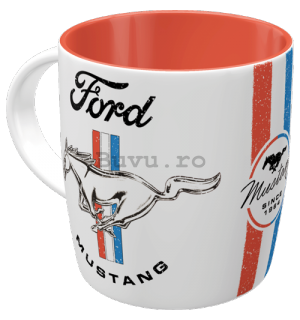 Cană - Ford Mustang  (Horse & Stripes)