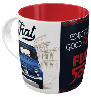 Cană - Fiat 500 (Enjoy The Good Times)