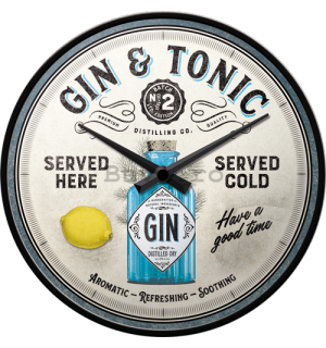 Ceas retro - Gin & Tonic Served Here